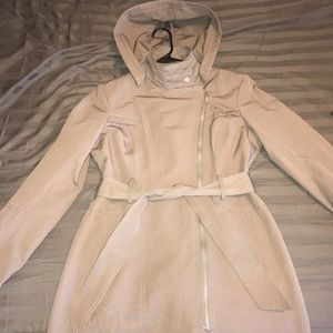 Vince Camuto Asymmetrical Trench Coat